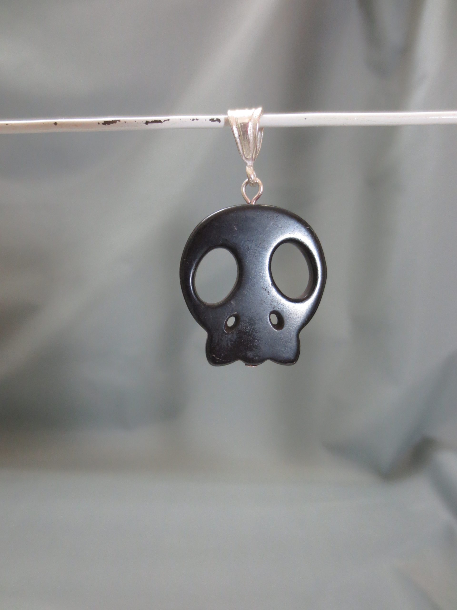 black esqueleto pendant necklaces shop skull